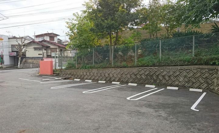 タバサ動物病院駐車場(東側)